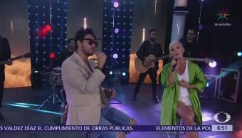 Beto Cuevas y Ana Torroja sorprenden con musical en Al Aire