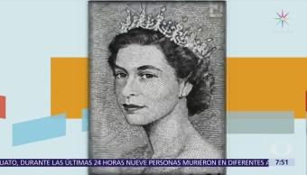 Billetes captan evolución de la imagen de la reina Isabel II