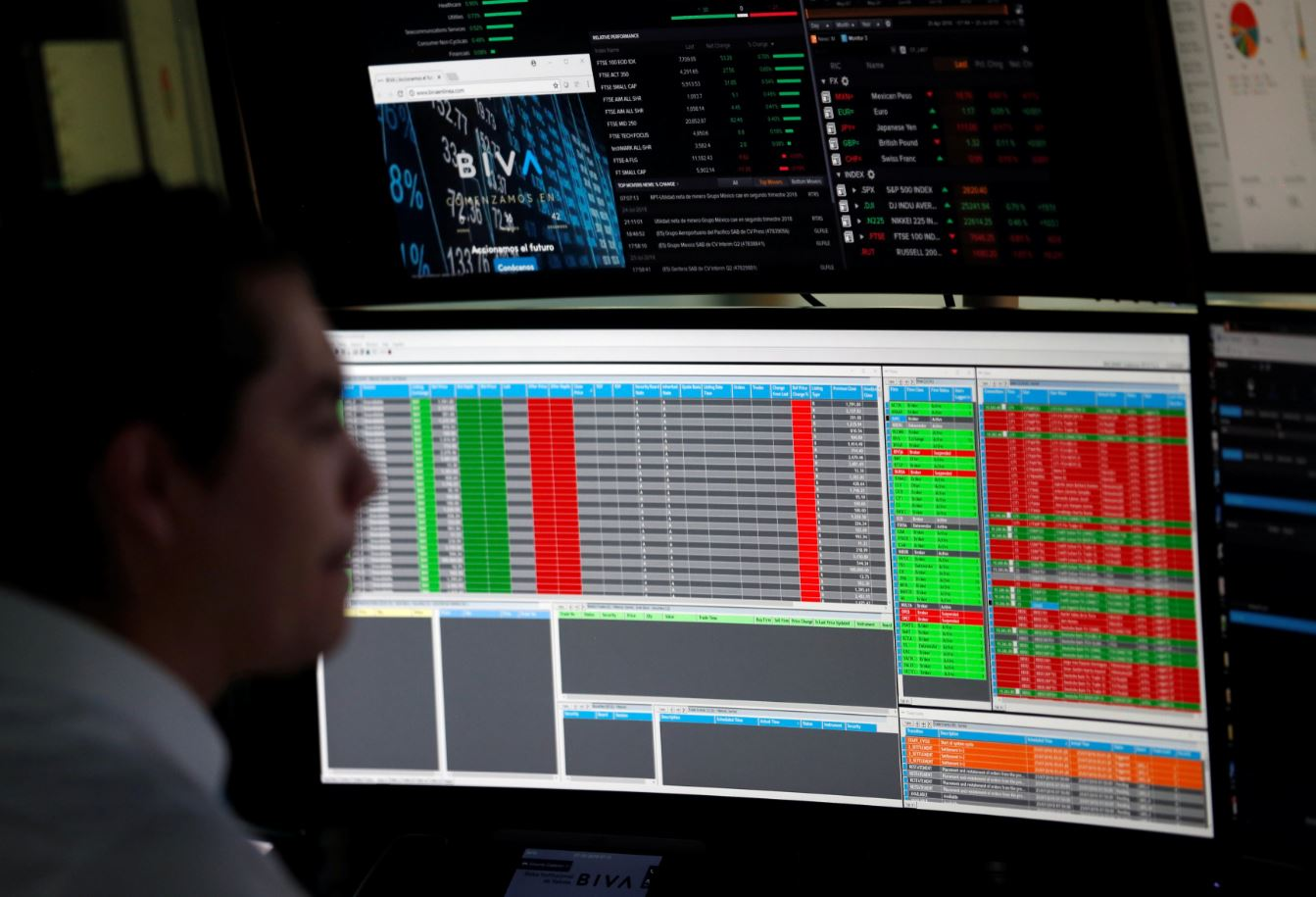 Bolsa Mexicana gana, atenta a información comercial de China y EU