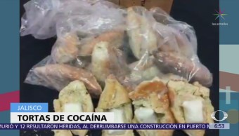 Bolillos con cocaína serían enviados de Jalisco a EU