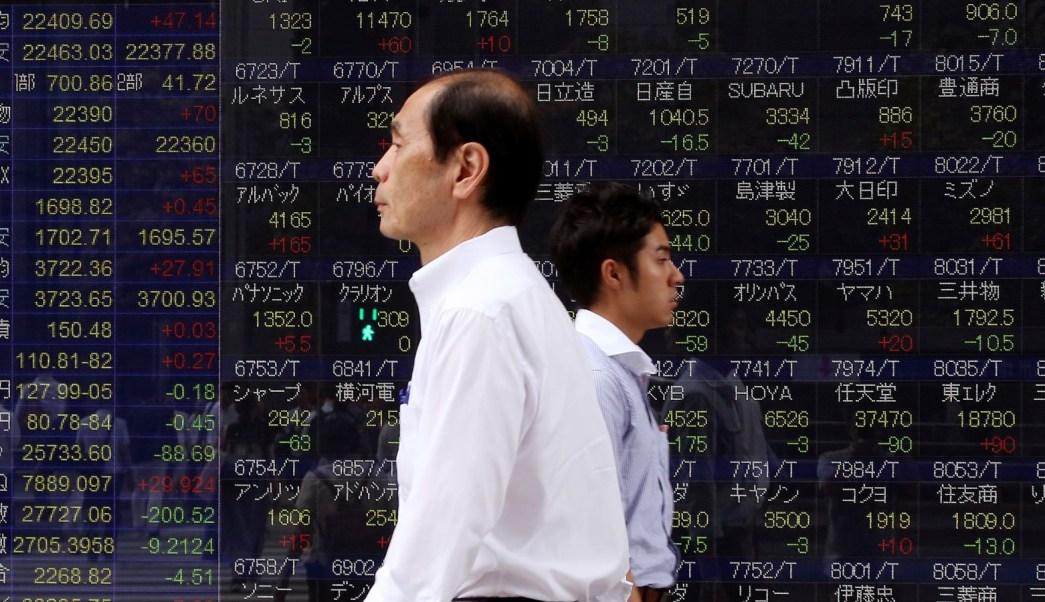 Bolsa de Tokio cierra con alza, Bolsas de China en línea