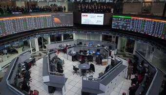 Bolsa Mexicana sube, observa negociaciones comerciales