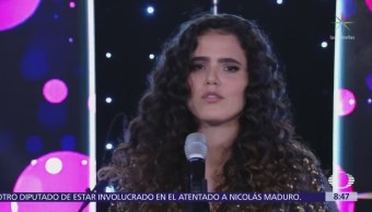 Camila Fernández ofrece musical en Al Aire