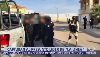 Capturan al presunto líder de La Línea