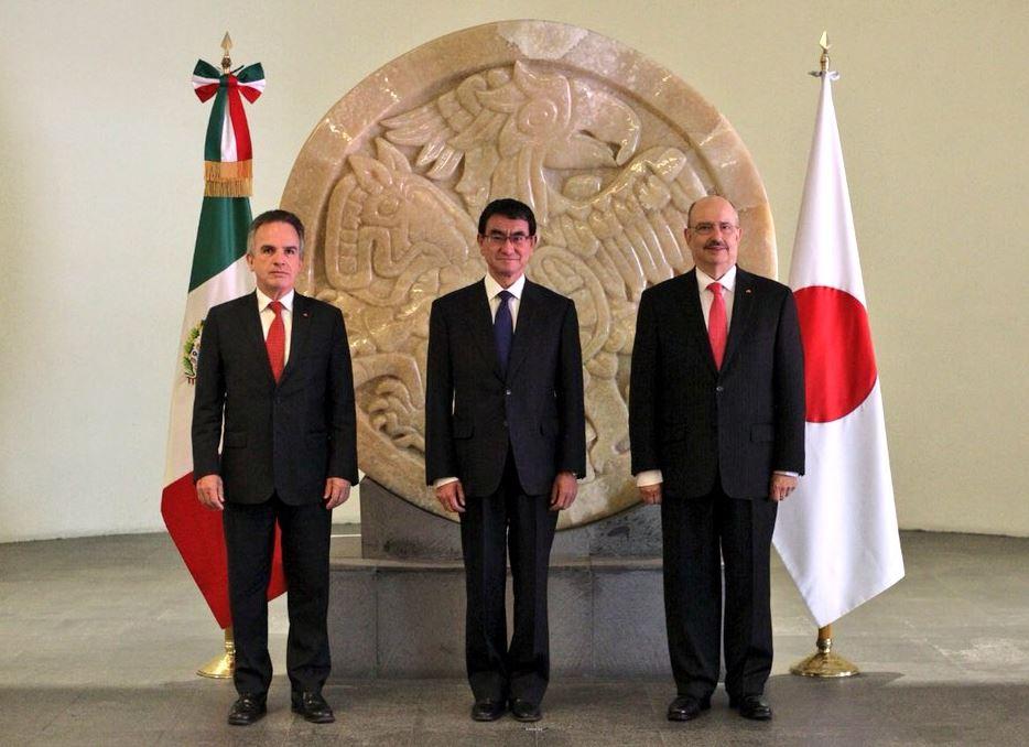 AMLO acuerda mayor intercambio comercial con Japón