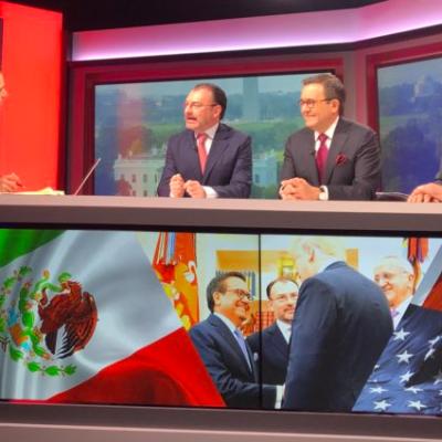 Videgaray, Guajardo y Seade: México dio una sola cara en negociación TLCAN