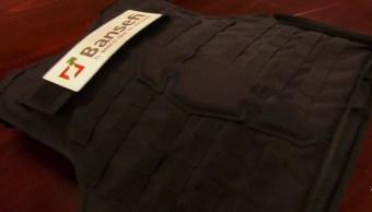 empresa encargada fabricar chalecos trabajadores bansefi altero pruebas balistica
