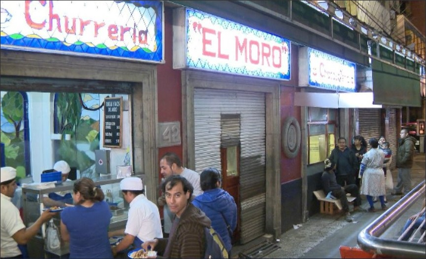 Churrería 'El Moro' es evacuada por explosión de lata aire