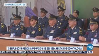 Cienfuegos encabeza ceremonia de graduación de enfermeras