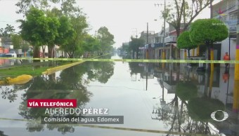 Ciudad Neza Chimalhuacán Municipios Afectados Tormenta