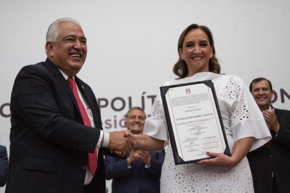 Claudia Ruiz Massieu, al frente del PRI