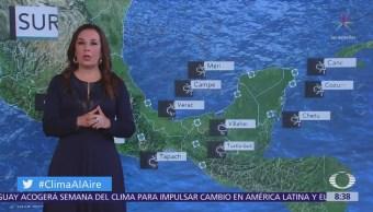 Prevén lluvias y tormentas en Ciudad de México