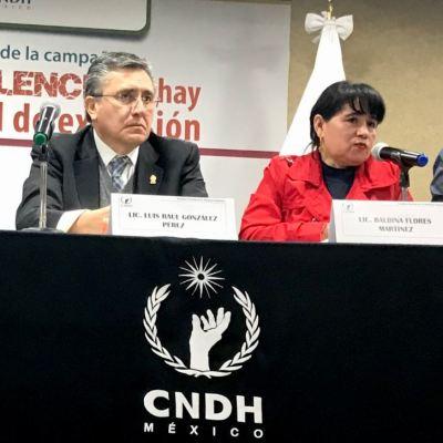 CNDH lanza campaña contra la violencia a periodistas