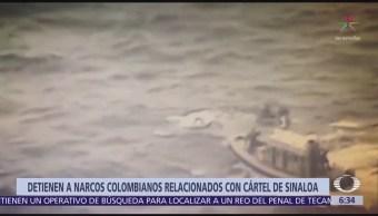 Colombia arresta a narcotraficantes que usaban submarinos artesanales