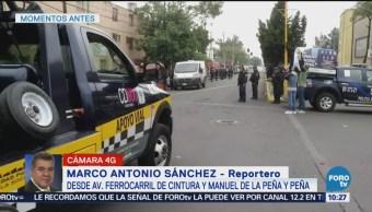 Concluyen Trabajos Periciales Homicidio De Dos Personas Colonia Morelos Ferrocarril De Cintura Manuel De La Peña Y Peña