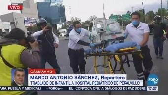 Cóndores trasladan a bebé prematuro a hospital pediátrico