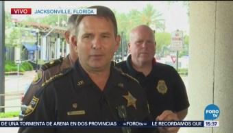 Confirman sospechoso muerto tras tiroteo en Jacksonville