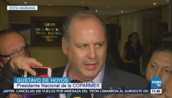 Coparmex considera mayor posibilidad de concluir TLCAN