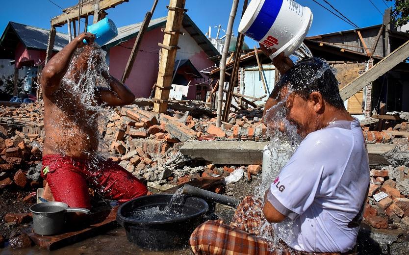 Suman 387 muertos por sismo en Lombok, Indonesia