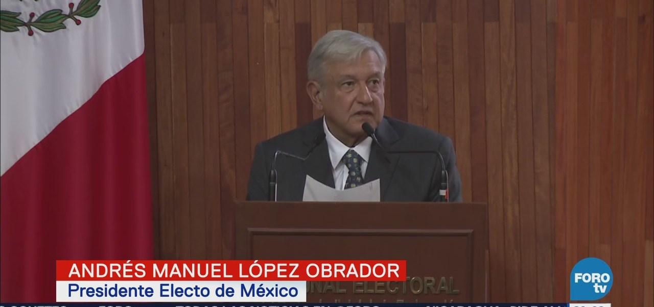 Declaran Formalmente López Obrador Presidente Electo