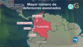 Defensores Derechos Humanos Acusan Violencia Colombia
