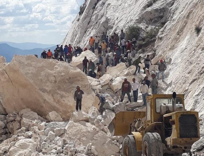 Derrumbe de mina en Hidalgo deja al menos un muertos