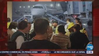 Desalojan Avión AICM Alarma Fuego CDMX