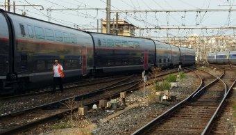 Descarrila tren de alta velocidad en Marsella, Francia