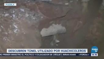 Descubren Túnel Utilizado Huachicoleros Puebla Denuncia Anónima Secretaría De La Defensa Nacional Pemex Toma Clandestina Hidrocarburo