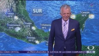 Despierta con Tiempo: Onda tropical 29 provocará actividad eléctrica en México