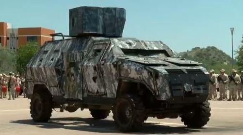destruyen vehiculo blindado decomisado a delincuentes sonora