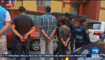 Detienen a 7 personas en un operativo en Culhuacán, CDMX