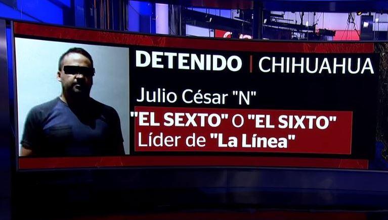 consignan presunto lider grupo criminal la linea