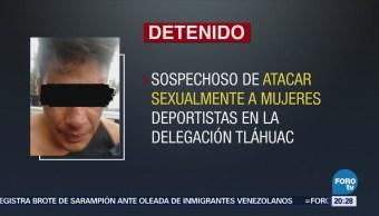Detienen Presunto Violador Mujeres Tláhuac Cirmen