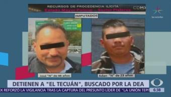 Detienen en CDMX a 'El Tecuán', buscado por la DEA