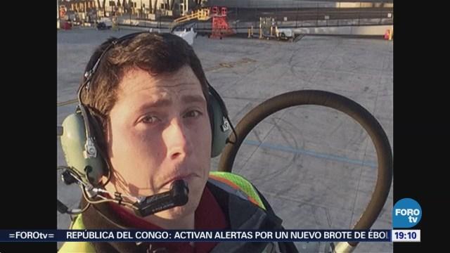 Video de hombre estrelló avión en EU