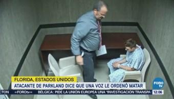 Difunden video interrogatorio Nikolas Cruz masacre Florida