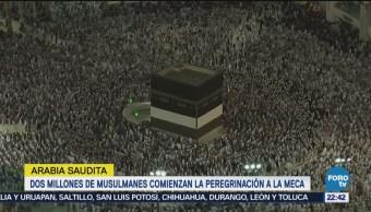 Dos Millones Musulmanes Comienzan Peregrinación La Meca
