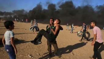 Dos palestinos muertos en nuevas protestas en Gaza