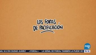 El Abc Foros De Pacificación Amlo Andrés Manuel López Obrador