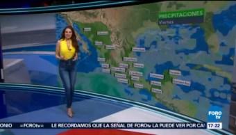 Clima Mayte Carranco Prevén Tormentas Puntuales