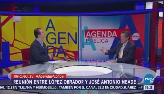 Encuentro Amlo Meade Análisis Rafael Cardona