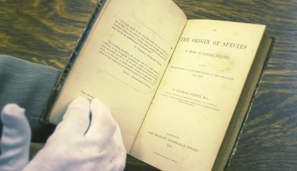 Primera edición de 'El origen de las especies', de Charles Darwin, vendida en México
