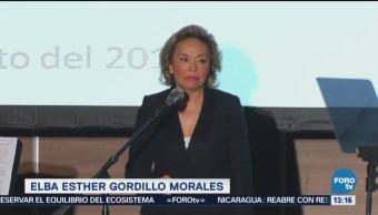 Elba Esther Gordillo Reaparece Público Mensaje Polanco Fue Víctima De Una Persecución Política, Denuncia