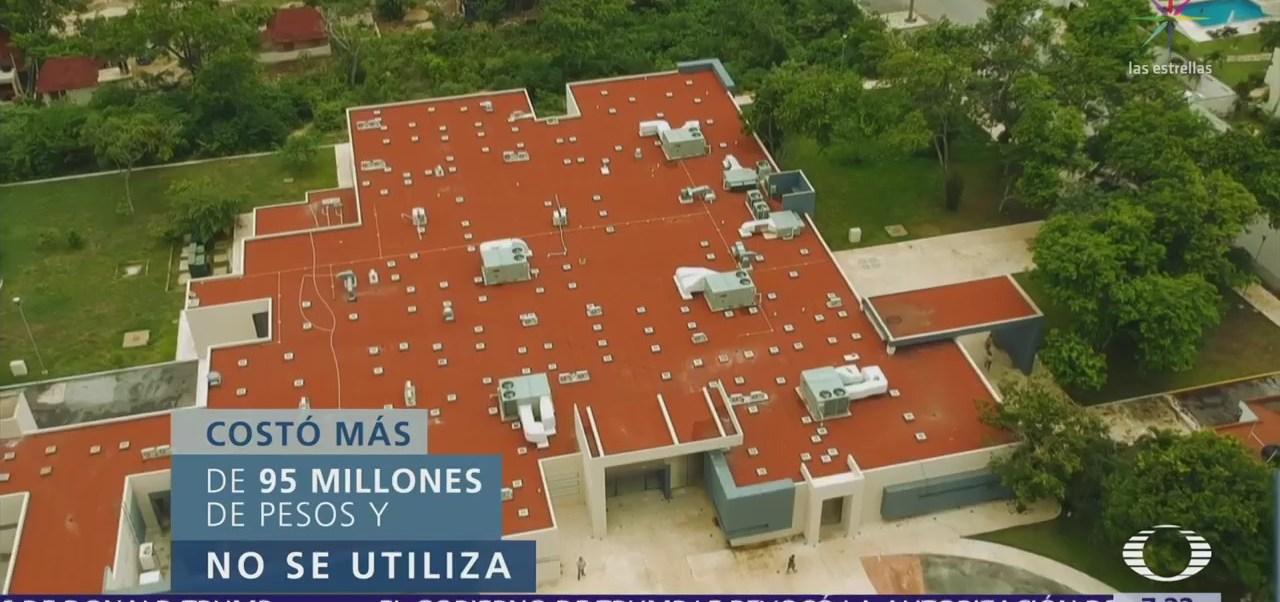 En el olvido, millonario hospital en Tulum