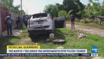 Enfrentamiento Guerrero Deja Tres Delincuentes Muertos