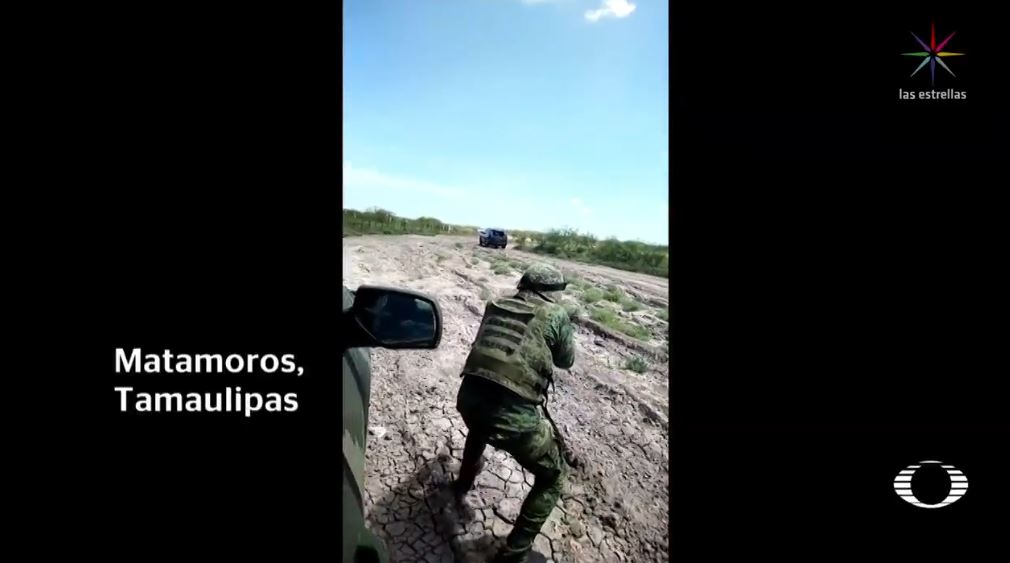 Militar pide 'ser honorable' en enfrentamiento en Matamoros