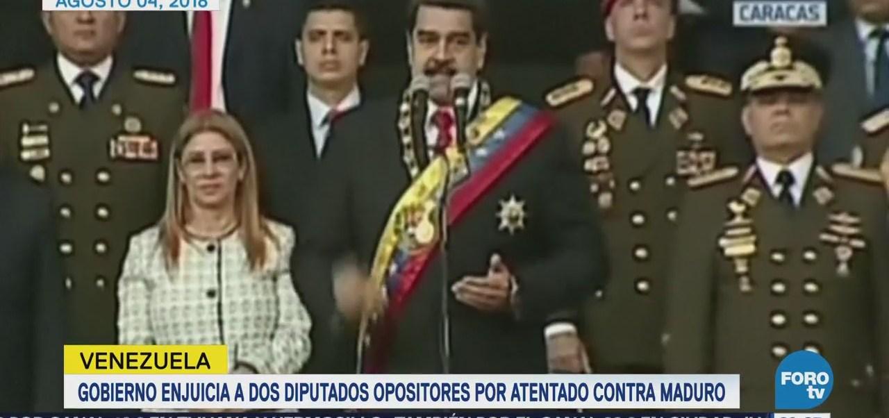Enjuician Diputados Opositores Atentado Contra Maduro