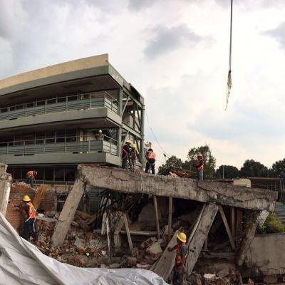 Investigan a ocho funcionarios por derrumbe del Colegio Rébsamen
