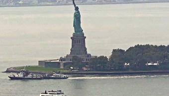 Evacuan Estatua de la Libertad tras incendio
